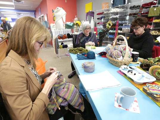 Knitting Room Fond Du Lac : The knitting room strings friendships together