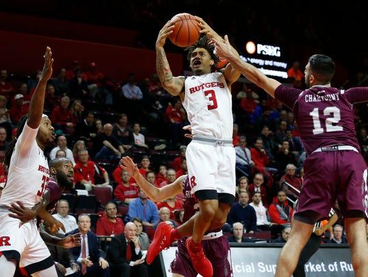 NCAA Basketball: Fordham at Rutgers