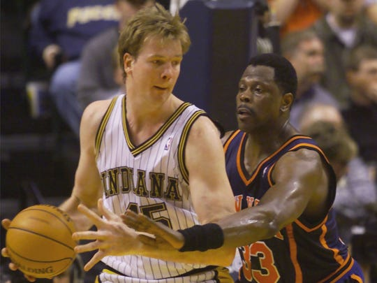 Rik Smits came to the Pacers with the No. 2 overall