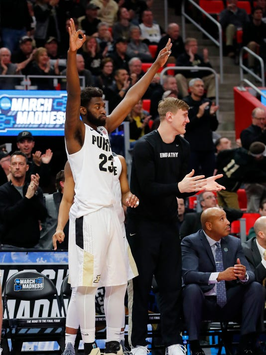 NCAA Basketball: NCAA Tournament-Second Round-Purdue Boilermakers vs Butler Bulldogs