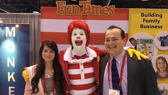Joey Himmelberg met his wife Christina at McDonald's.