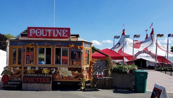 Poutine Gourmet, a food truck that sells poutine.