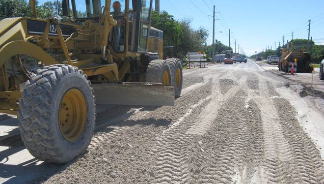 The proposed brevard County budget for 2017-18 provides more money for resurfacing and reconstruction of county roads.