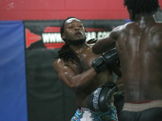 Amateur fighter Melvin Britton  found MMA after a life-long