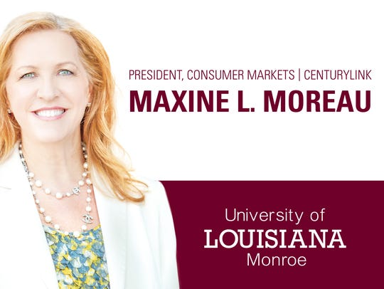 CenturyLink's Maxine Moreau to deliver ULM commencement