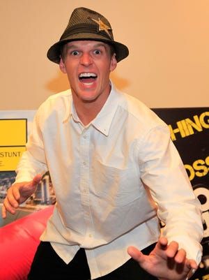 Erik Roner at the 'Nitro Circus The Movie 3D' press event in August 2012.
