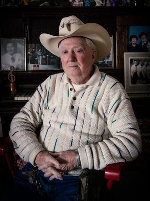 All Shade, 88, still performs traditional country music on AM 1510 radio on Mondays, Thursdays and Fridays at 11 a.m.