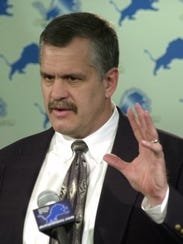 Former Lions team president Matt Millen: Now he's sorry.