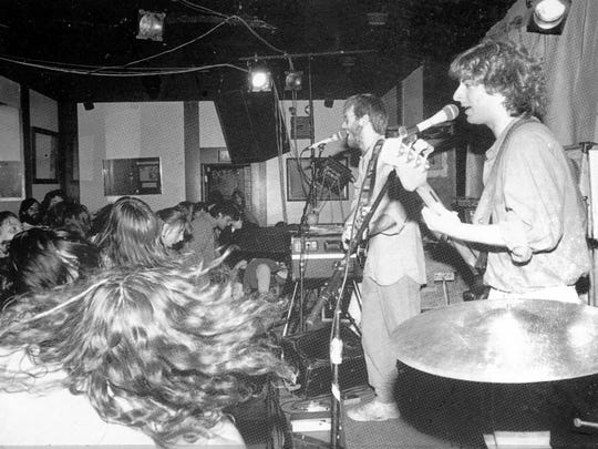 Phish plays at Nectar's in 1988.