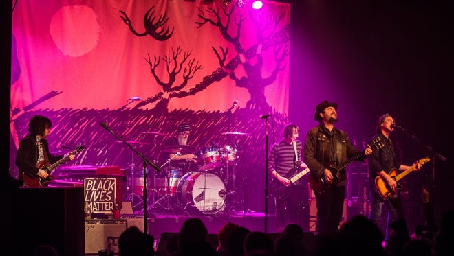 """Alternative country band Drive-By Truckers came to Turner Hall Ballroom on Wednesday behind last fall's """"American Band,"""" one of the most acclaimed albums of 2016."""
