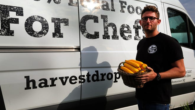 Oliver Gubenko, 29, Founder/Owner of Harvest Drop, which serves as a conduit between dozens of the state's farms and 120+ NJ restaurants in the provision of fresh, seasonal, local produce.