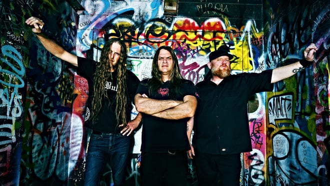 Wisconsin death metal band Jungle Rot.