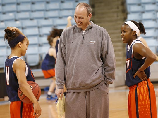 Medina native Heather Butler (left) and Jasmine Newsome (right) became the Ohio Valley Conference's two highest scorers ever, leading the Skyhawks to a fourth straight NCAA tournament appearance in March.