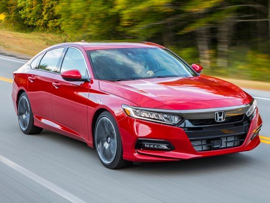 Car Of The Year Honda Accord Is Advanced Fun Efficient - Accord vehicle