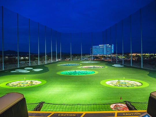 If you want to skip the traditional parties, you can welcome 2016 with a little golfing action at Topgolf.