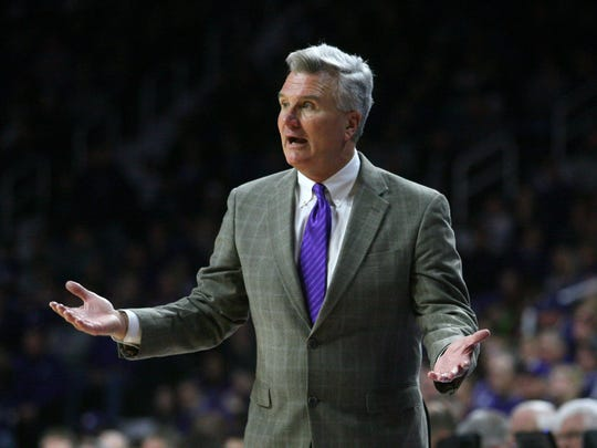 Kansas State Wildcats head coach Bruce Weber is once
