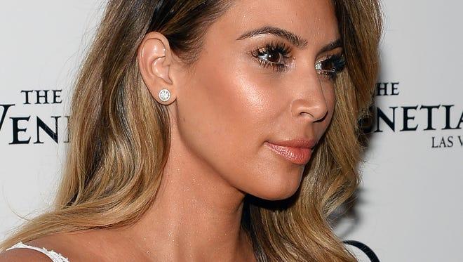 Kim Kardashian  celebrated her 33rd birthday on Oct. 26 in Las Vegas.