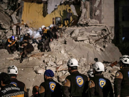 EPA (FILE) SYRIA CONFLICT WHITE HELMETS WAR ARMED CONFLICT SYR ID