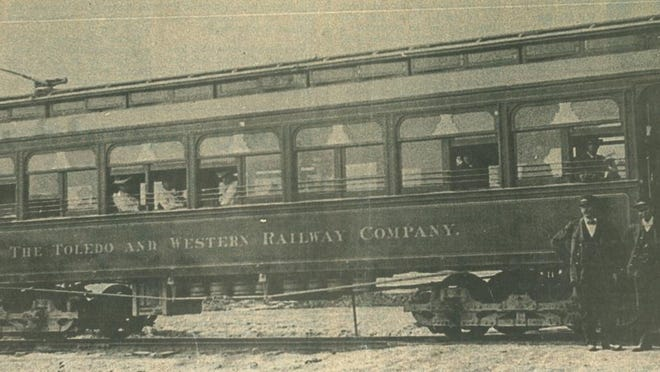 The old Teeter and Wobble posing for a photo along its run between Toledo and Adrian.