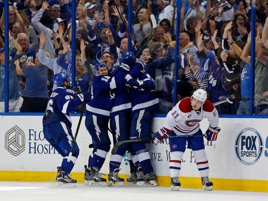 Montreal Canadiens v Tampa Bay Lightning - Game Three