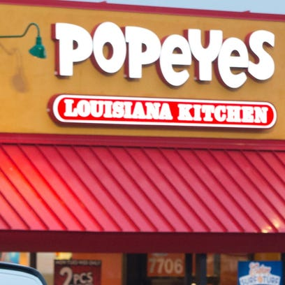 A Popeyes Louisiana Kitchen is being proposed for Martin County.