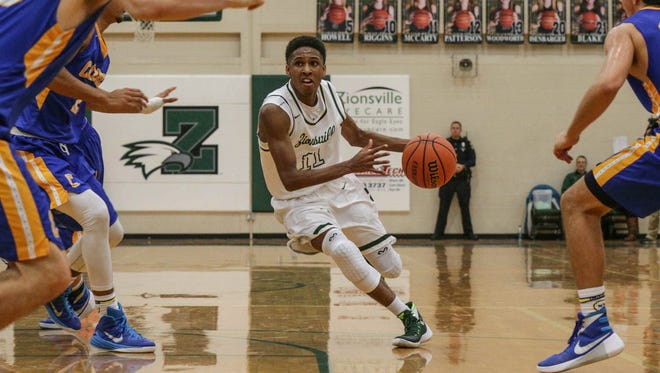 Zionsville's Isaiah Thompson is one of the in-state 2019 prospects offered by Butler.