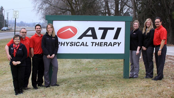 ATI Physical Therapy in Manitowoc staff in 2014.