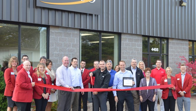 Marco Inc. held a ribbon cutting Oct. 9, at their new location on Stewart Avenue in Wausau.