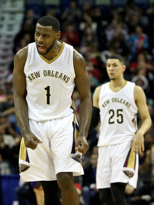 NBA: Phoenix Suns at New Orleans Pelicans