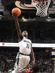 Senior point guard Tum Tum Nairn Jr. leads a deep Michigan