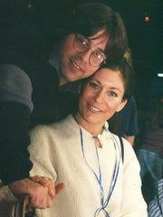NXIVM co-founder Keith Raniere and his then-girlfriend, Toni Natalie, are pictured in 1997, a year before Raniere's company was started in Albany, N.Y.