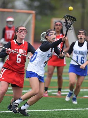 Millbrook and Red Hook high schools compete in lacrosse on May 6.