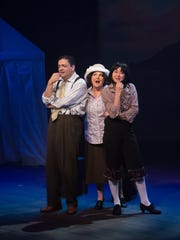 "Theater Works' ""Gypsy"" features (from left) Scott Hyder,"