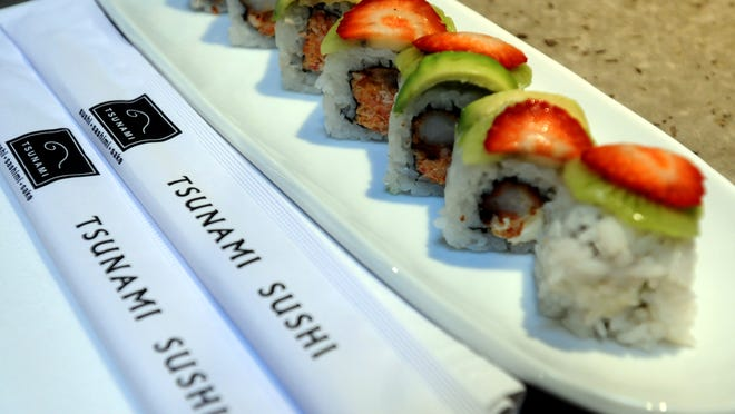 Tsunami Sushi is among this year's 'Best of'  Asian restaurants.