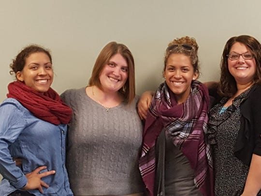 (From left to right) Shantyle Wallace, Heather Wallace, Savana Wallace, Molly McGuire and Donna McGuire will serve soup to those in need in the New York City area, starting Sept. 27.