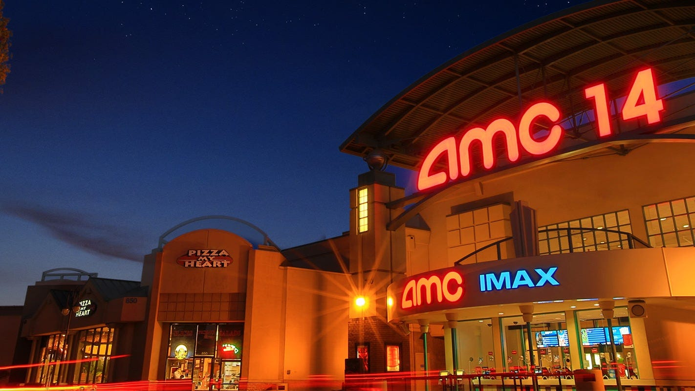 AMC theater chain warns that it may not survive disruption from coronavirus pandemic - USA TODAY