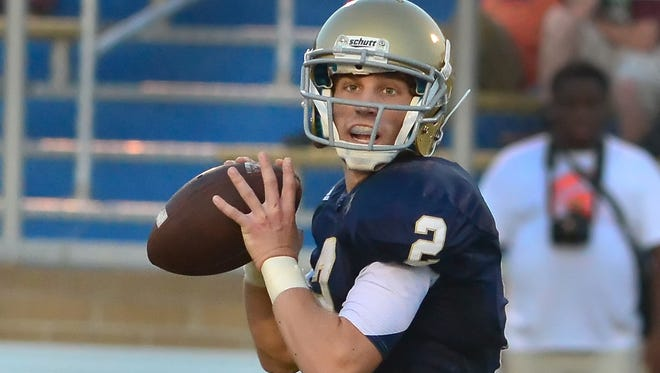 Pope John Paul II quarterback Ben Brooks has thrown for 19 touchdowns and rushed for seven more this season.