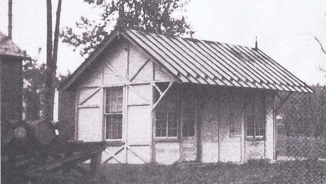 This is what the Qunicy Station looked like in 1830.
