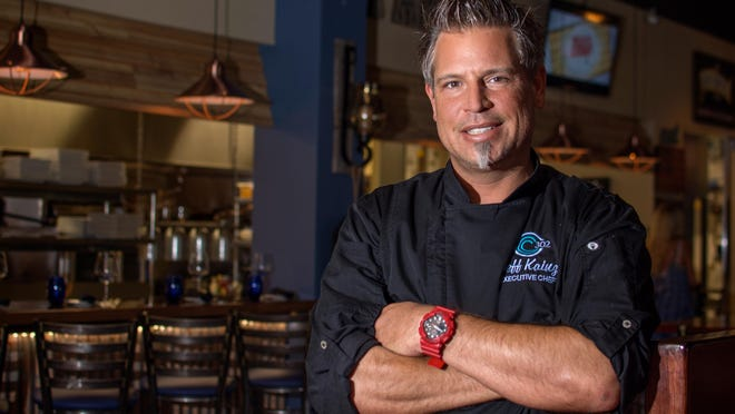 Jeff Kainz is executive chef at Ocean 302 in Melbourne Beach.