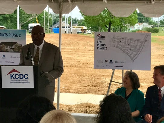 Knoxville City Councilman Dan Brown said he grew up