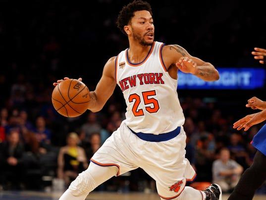 Knicks 39 derrick rose out for season with torn meniscus - Derrick rose wallpaper knicks ...