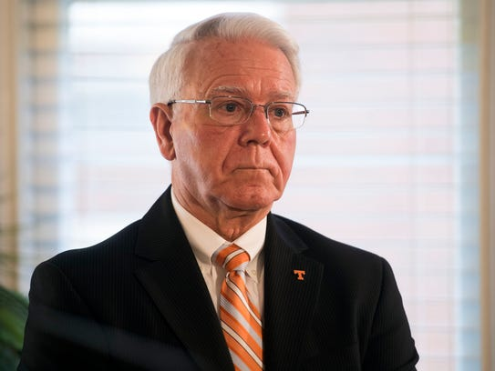 Wayne Davis, interim chancellor at University of Tennessee