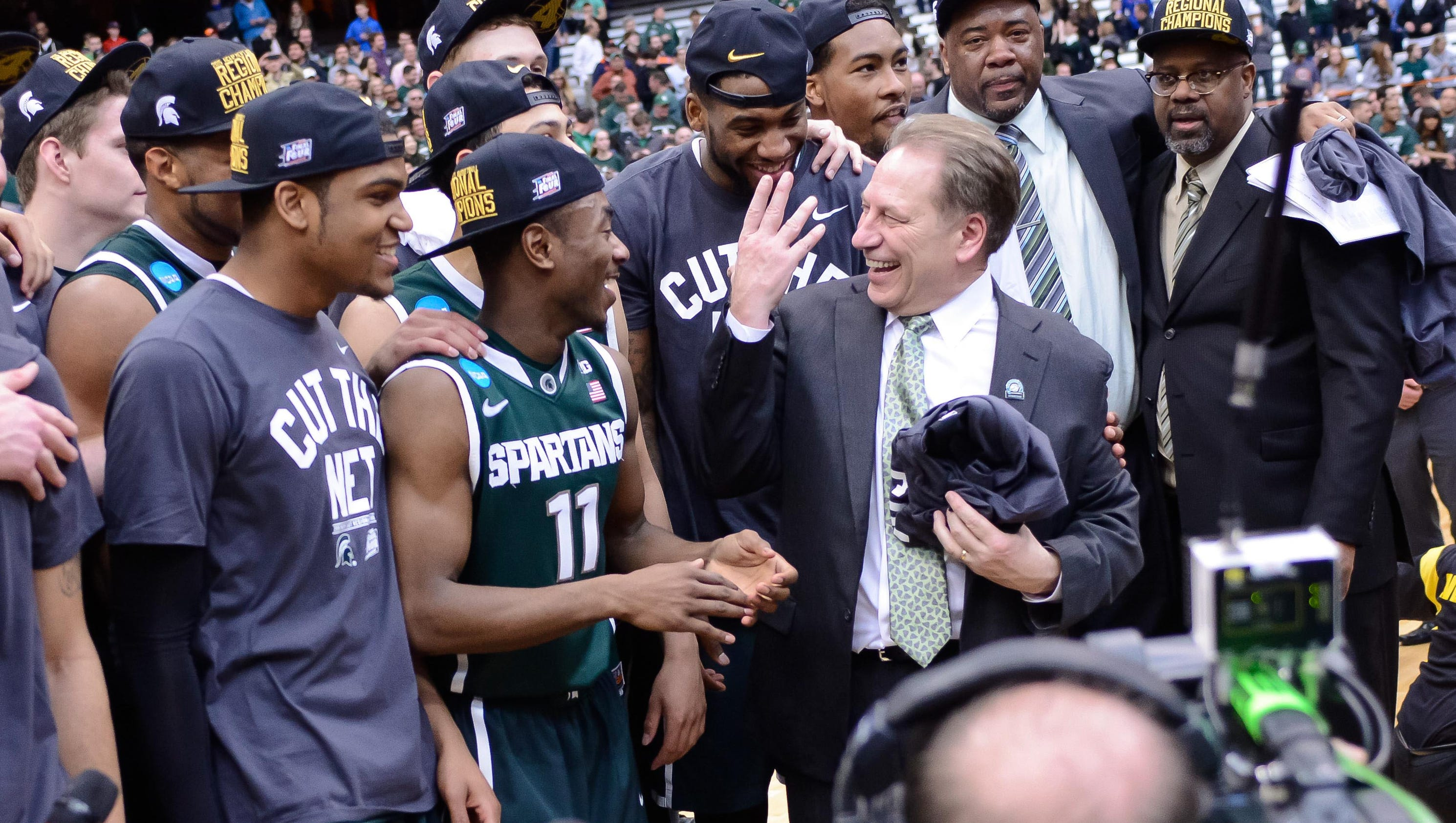 Spartans strong vs. higher seeds under Izzo -- except in ...