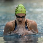 Rocky Mountain's Daphne Williams is seeded first in the 100 breaststroke and second in the 100 butterfly.