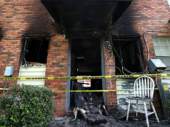 Rockbrook Garden Apartments where a young girl died