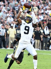 Michigan wide receiver Donovan Peoples-Jones has three catches for 60 yards through the first four games this season.
