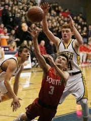 The FRCC scoring title could very well be won by Sheboygan North's Brent Widder or Sheboygan South's Josh Govek. The duo are tied for 1st entering Saturday's rivalry game.