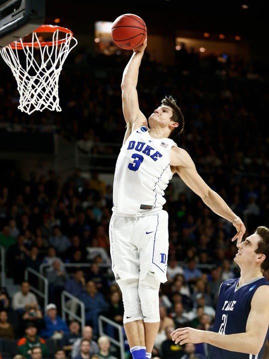 Grayson Allen to return for junior year, and Duke will be ...