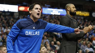USP NBA: NEW ORLEANS PELICANS AT DALLAS MAVERICKS S BKN USA TX
