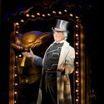 """Veteran entertainer John Davidson stars as the Wizard in the national tour of """"Wicked,"""" currently running at the Peace Center."""